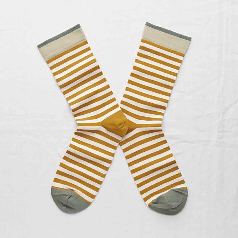Bonne Maison Honey Stripe Socks
