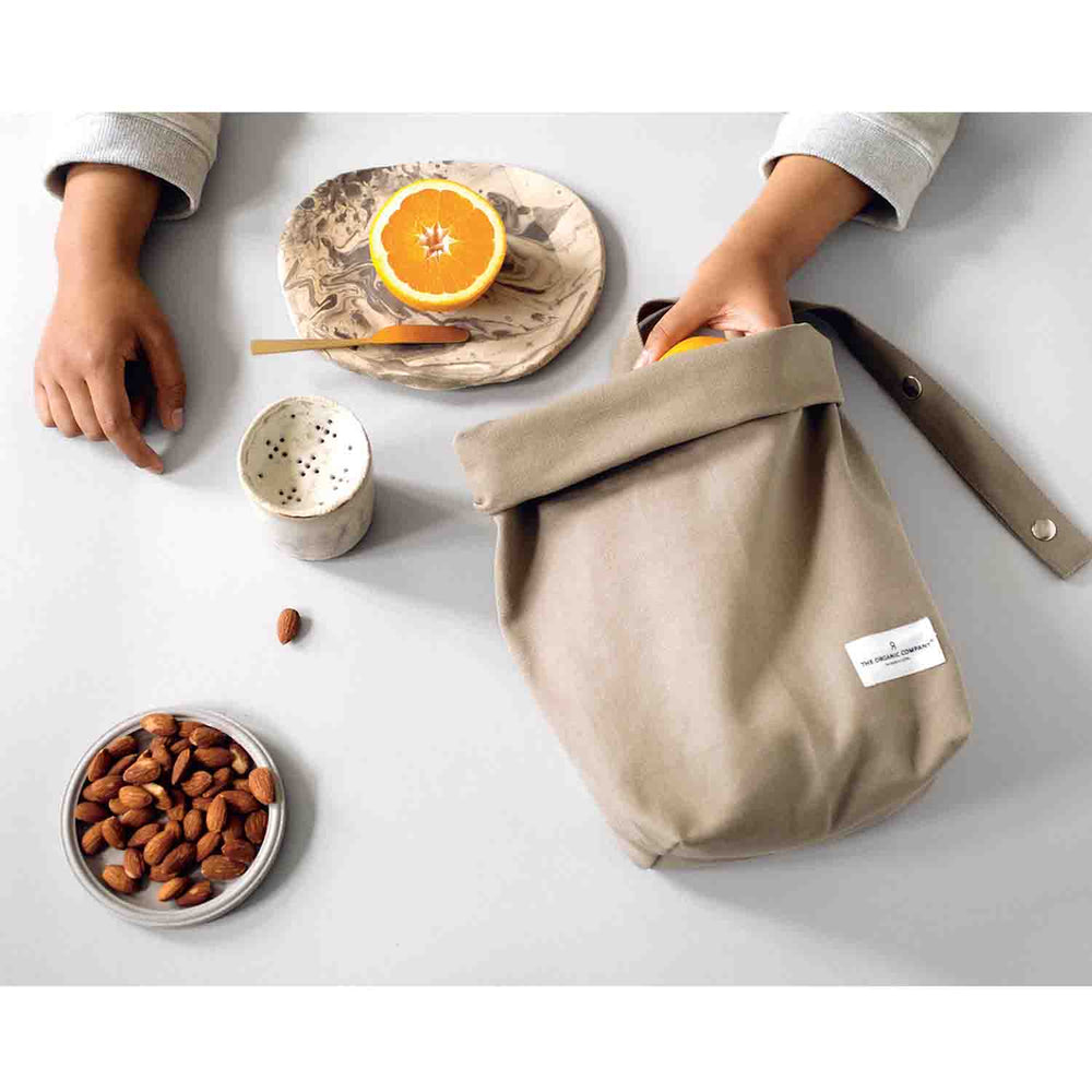 the organic company clay lunch bag lifestyle