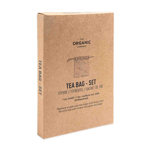 Load image into Gallery viewer, the organic company tea bag set package