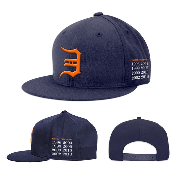 Eminem Tribute Champ - Unisex Navy Baseball Hat - MOBOLINE