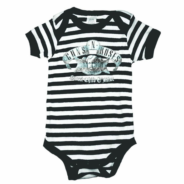 Guns N' Roses Sweet Child Black/White Onesie - MOBOLINE