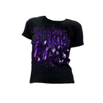 Slipknot Acid Burn - Womens Black T-Shirt