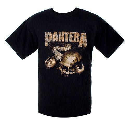 Pantera Rattler - Mens Black T-Shirt