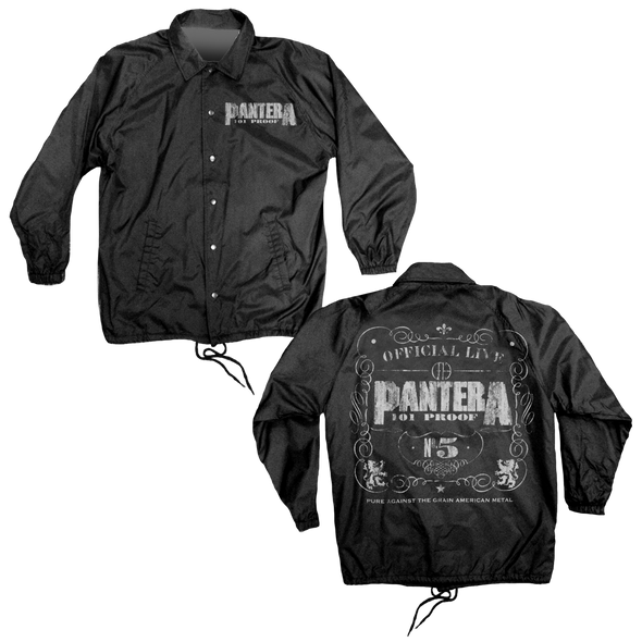 Pantera Coaches - Mens Black Coaches Jacket