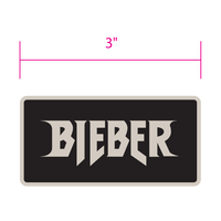 Justin Bieber Black Grey Patch - MOBOLINE