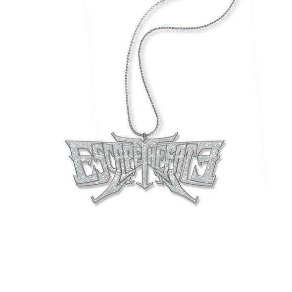 Escape The Fate Glitter Logo - Womens Na Necklace - MOBOLINE