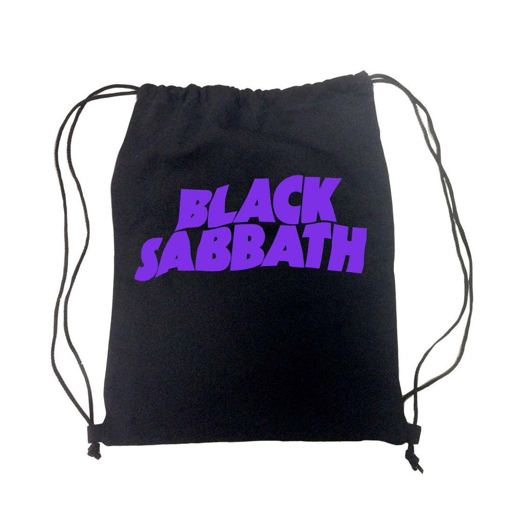 Black Sabbath Sabbath Logo - Mens Black Back Pack - MOBOLINE