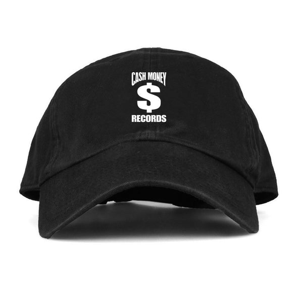 Cash Money Records Logo - Mens Black Dad Hat - MOBOLINE