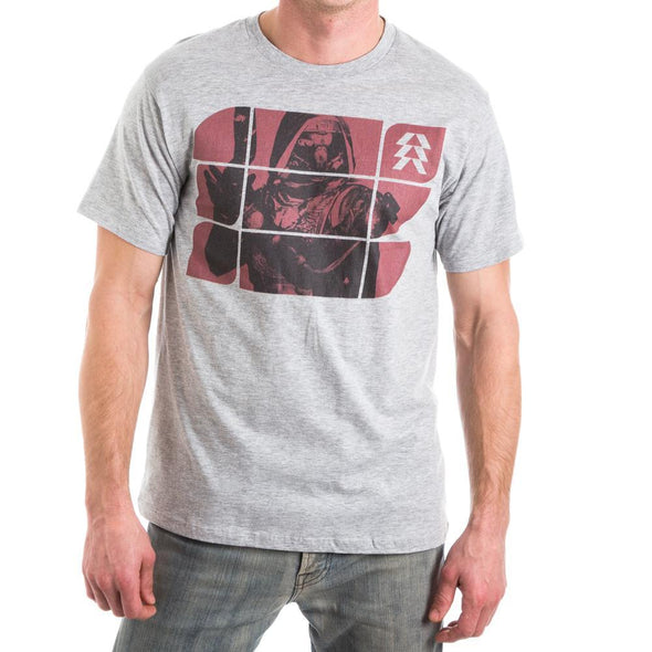 Destiny Hunter Guardian Class Character Men's Gray T-Shirt Tee Shirt - MOBOLINE