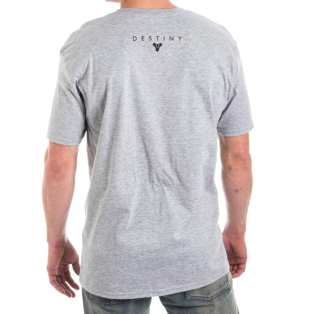 Destiny Guardian Class Character Men's Gray T-Shirt Tee Shirt - MOBOLINE