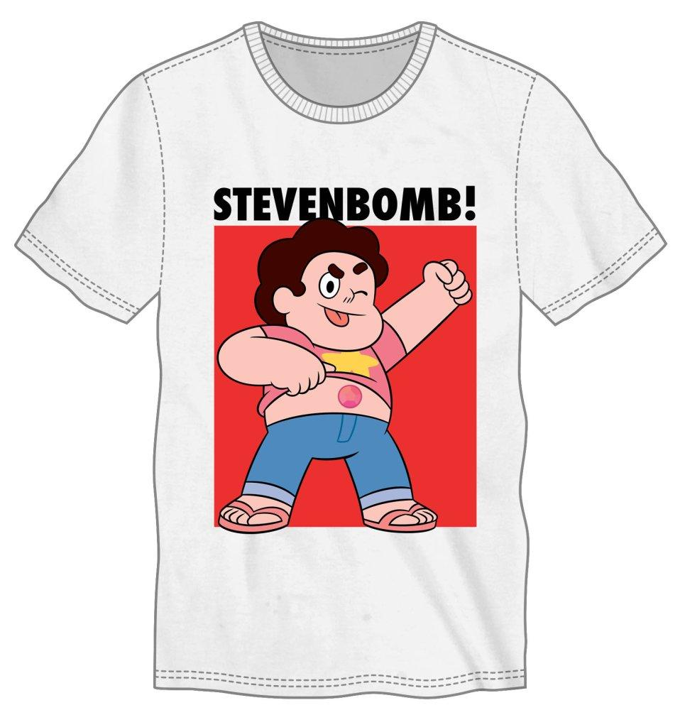 Cartoon Network StevenBomb! Tee - MOBOLINE