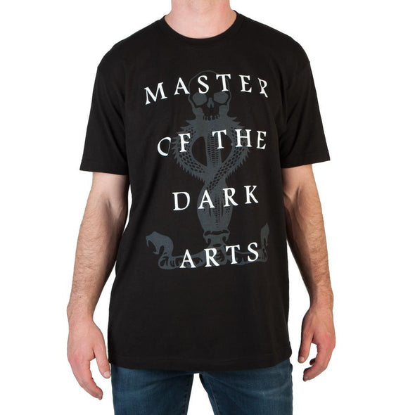 Harry Potter Master of the Dark Arts Dark Mark Men's Black T-Shirt - MOBOLINE