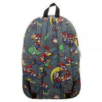 Snes Mario Sublimated Backpack