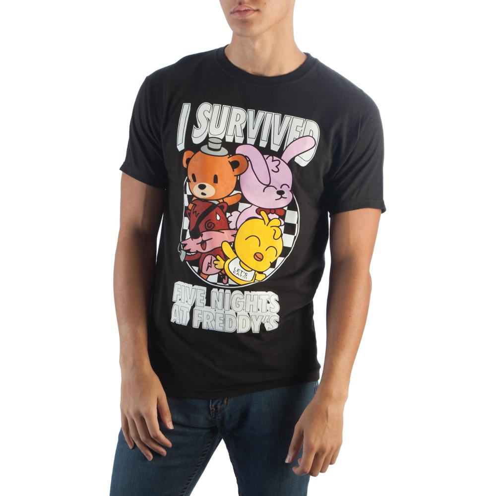 Five Nights I Survived T-Shirt - MOBOLINE