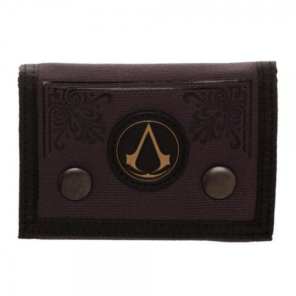Assassin's Creed Canvas Tri-Fold Wallet - MOBOLINE