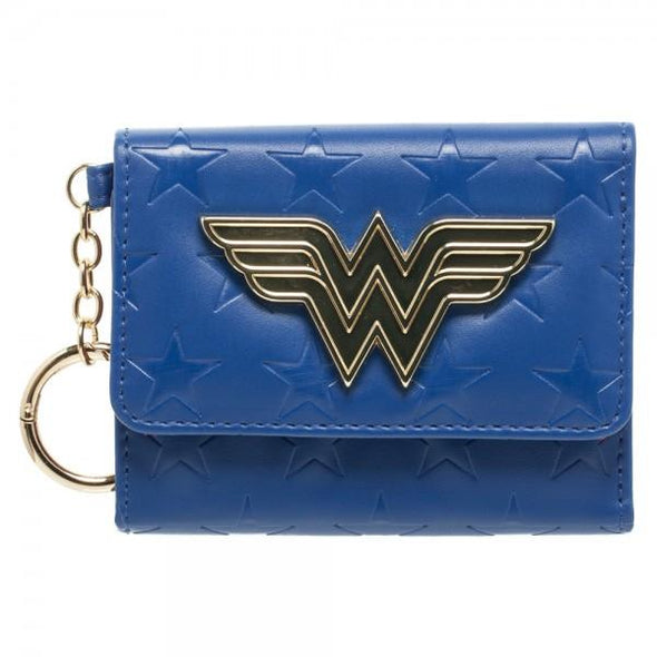 DC Comics Wonder Woman Mini Tri-Fold Wallet - MOBOLINE