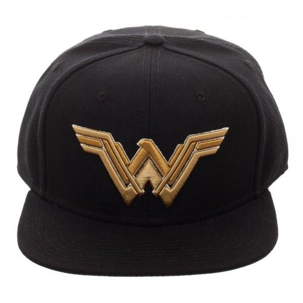 Core Line Wonder Woman Icon Embroidered Snapback - MOBOLINE