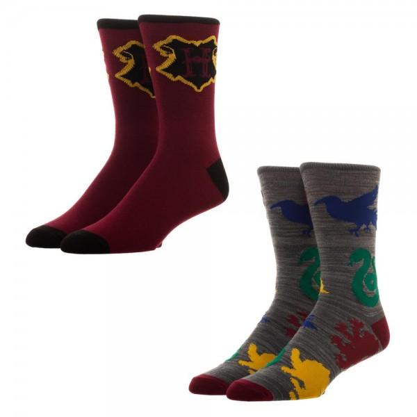 Harry Potter 2 Pack Crew Sock - MOBOLINE