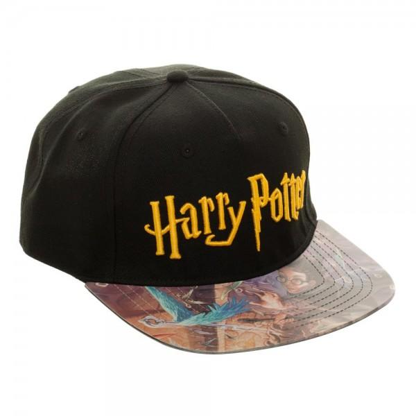 Harry Potter Printed Vinyl Bill FlatBill - MOBOLINE