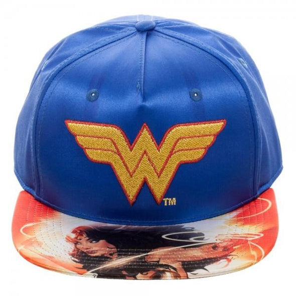 DC Comics Wonder Woman Satin Snapback - MOBOLINE