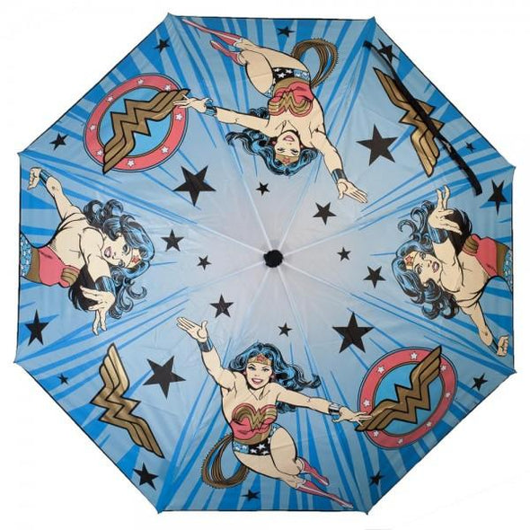 DC Comics Wonder Woman Liquid Reactive Umbrella - MOBOLINE
