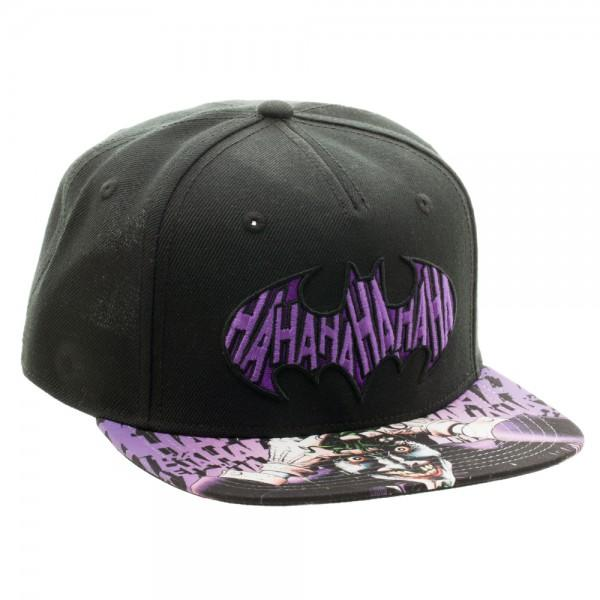 Batman Joker Sublimated Bill Snapback - MOBOLINE
