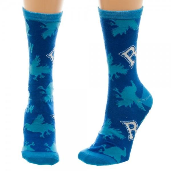 Harry Potter Ravenclaw Juniors Crew Socks - MOBOLINE