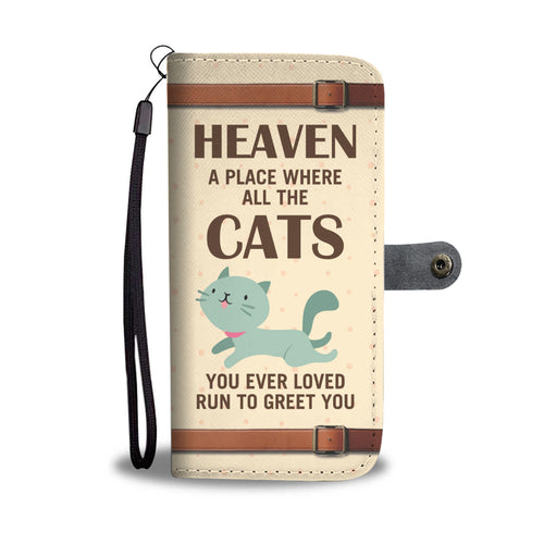 Awesome Cat Wallet Case