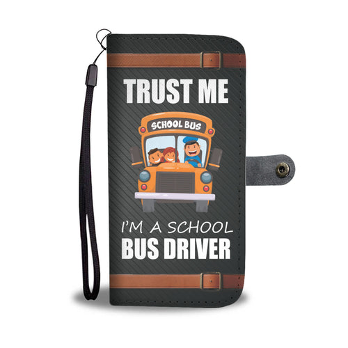 Awesome School Bus Driver Wallet
