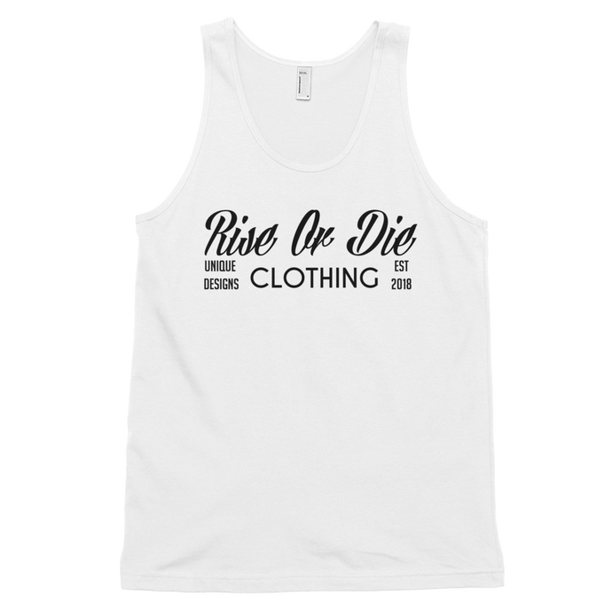 Rise Or Die Clothing Classic tank top (unisex)