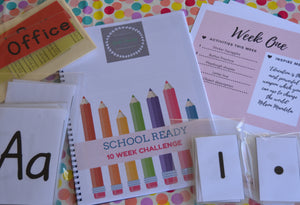10 Week School Ready Challenge DOWNLOAD
