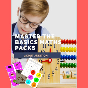 MASTER THE BASICS MATHS PACKS 2 digit addition DOWNLOAD