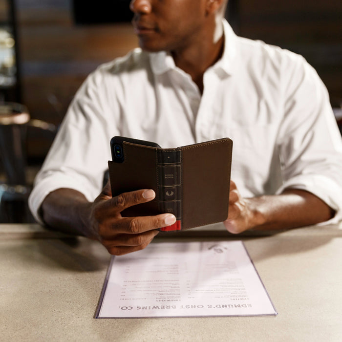 Twelve South BookBook for iPhone X