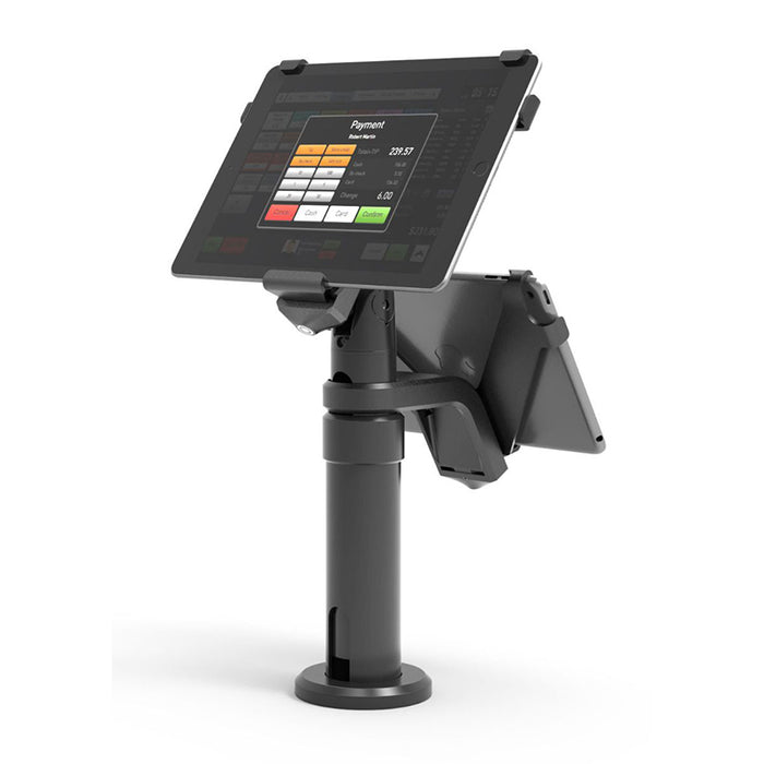 Compulocks V-Bracket & Pole for iPad 10.2 (Dual Screen)