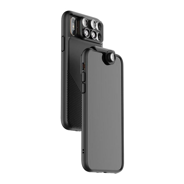 ShiftCam 2.0: 6-in-1 Travel Set with Front Facing Lens for iPhone