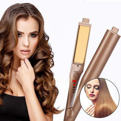 2 in 1 Twist Curler & Straightening Iron
