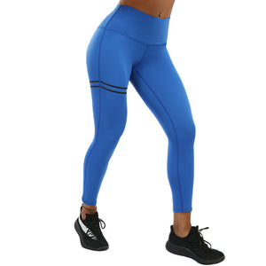 Fashion Workout Leggings Women High Waist Leggins Mujer Polyester Breathable Patchwork Clothing Jeggings 3 Color