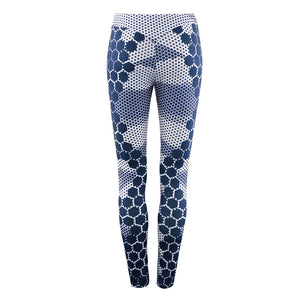 JLZLSHONGLE New Sexy Dot Print Leggings Women Stretch Slim Leggings Casual Dry Quick Push Up Fitness Legging Sporting Pants