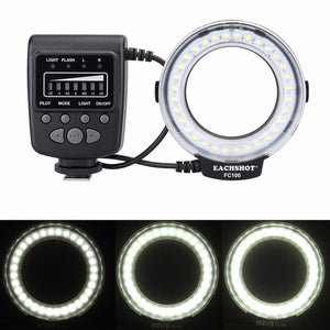 Ring Flash Light for Canon or Nikon