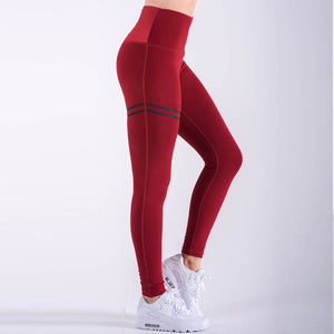 NORMOV Activewear High Waist Fitness Leggings Women Pants Fashion Patchwork Workout Legging Stretch Slim Sportswear Jeggings