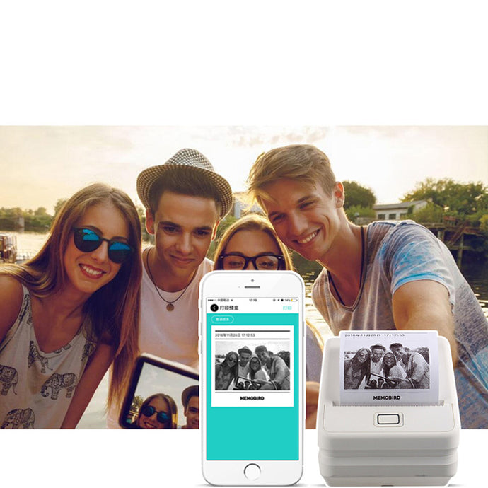 Mobile WiFi Photo Phone Printer