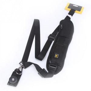 Quick Rapid Camera Single Shoulder Black Sling Strap For Canon For Nikon For Sony DSLR Camera