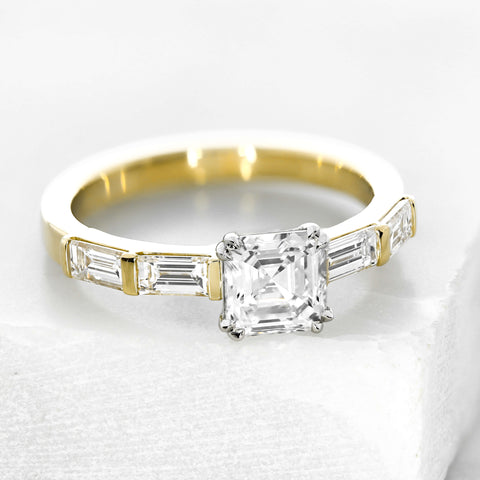 Unusual and unique engagement ring inspiration