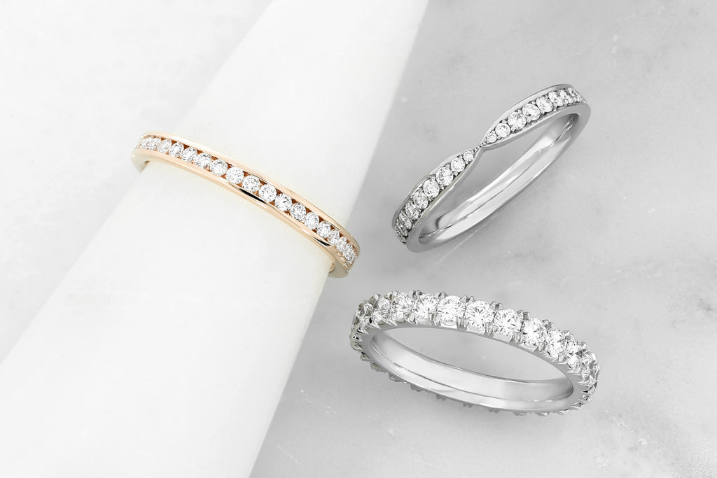 Find your Hatton Garden wedding rings with Hearts of London