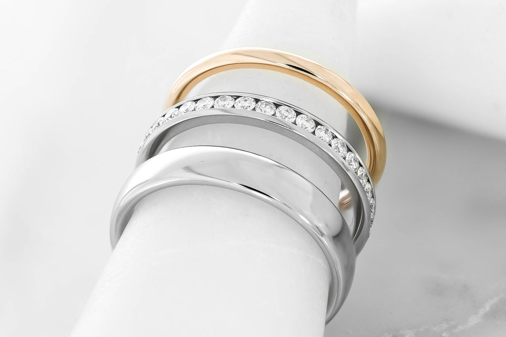 Find your wedding rings in Hatton Garden with Hearts of London