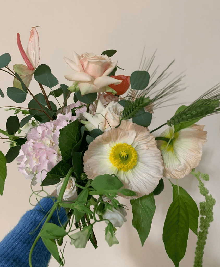 London florists Sage Flowers are offering free local delivery to encourage social distancing