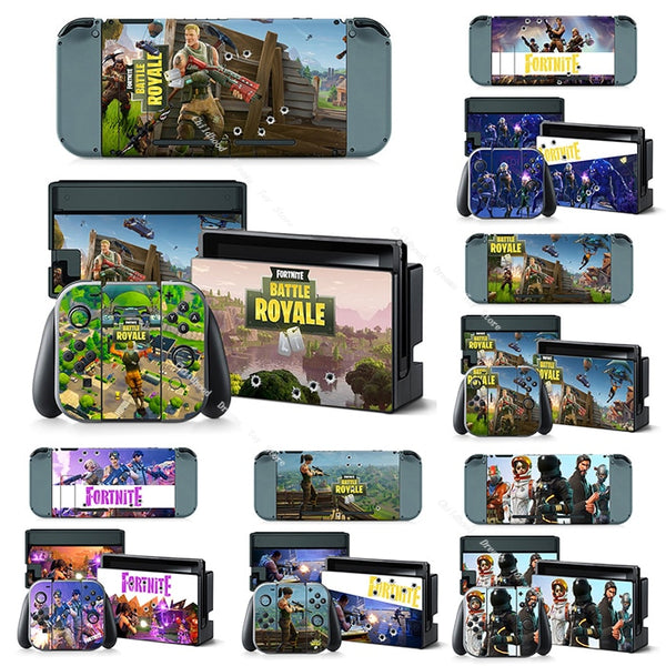 Fortnite, nintendo switch klistermerke