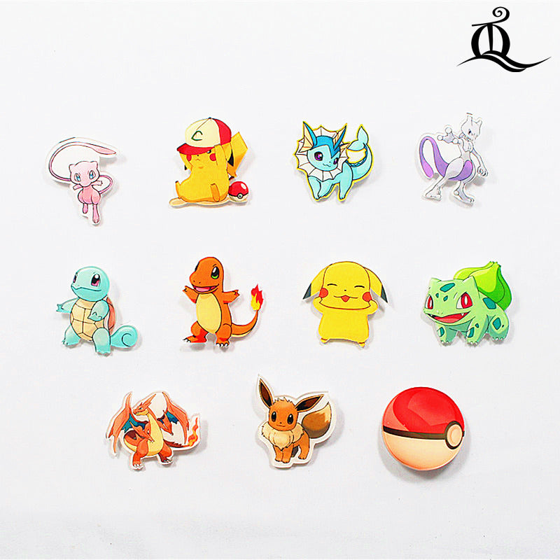 Pokemon, pins