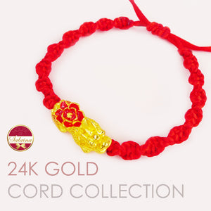 24K GOLD + CORD COLLECTION