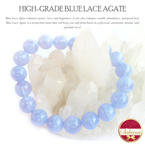 High Grade Blue Lace Agate